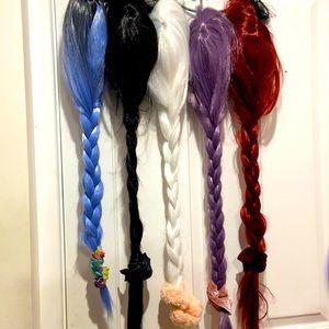 80cm length wigs